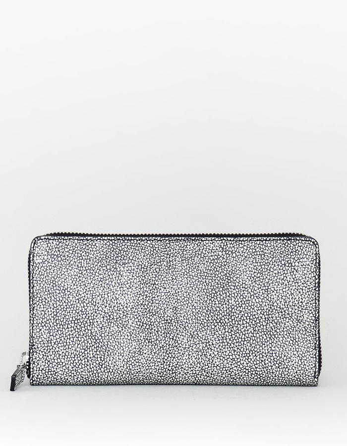 ファスナー長財布(カク型 1cm高)
