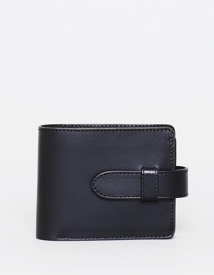 二つ折り財布 トリプルカードタイプ(差し込みベルト付き)オイルレザー