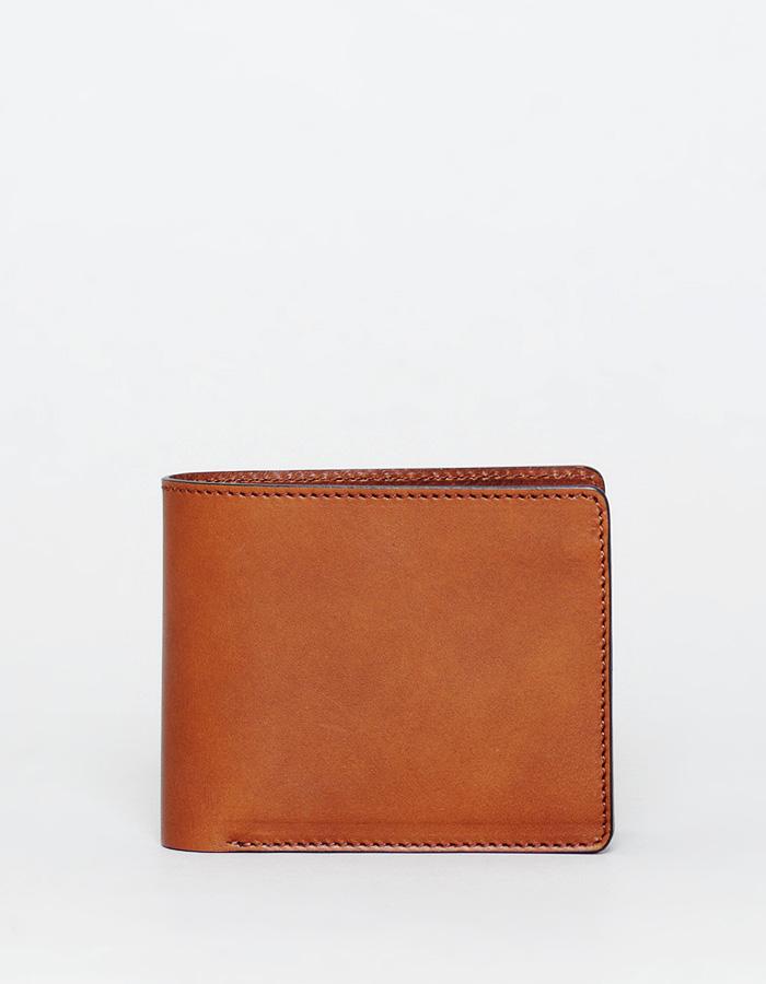 二つ折り財布 トリプルカードタイプ オイルレザー
