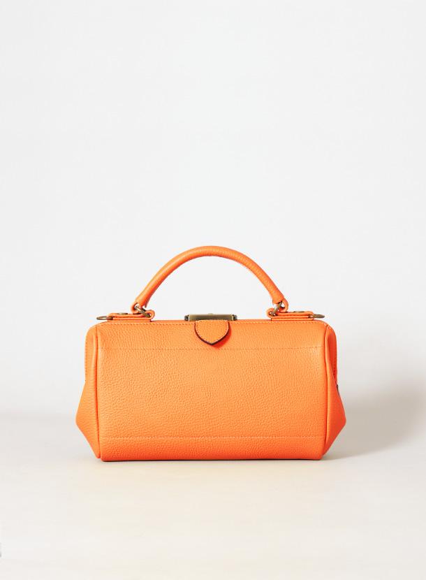 集金鞄Sサイズ(ハンドル長さ変更  裏貼り追加)シュリンクレザー