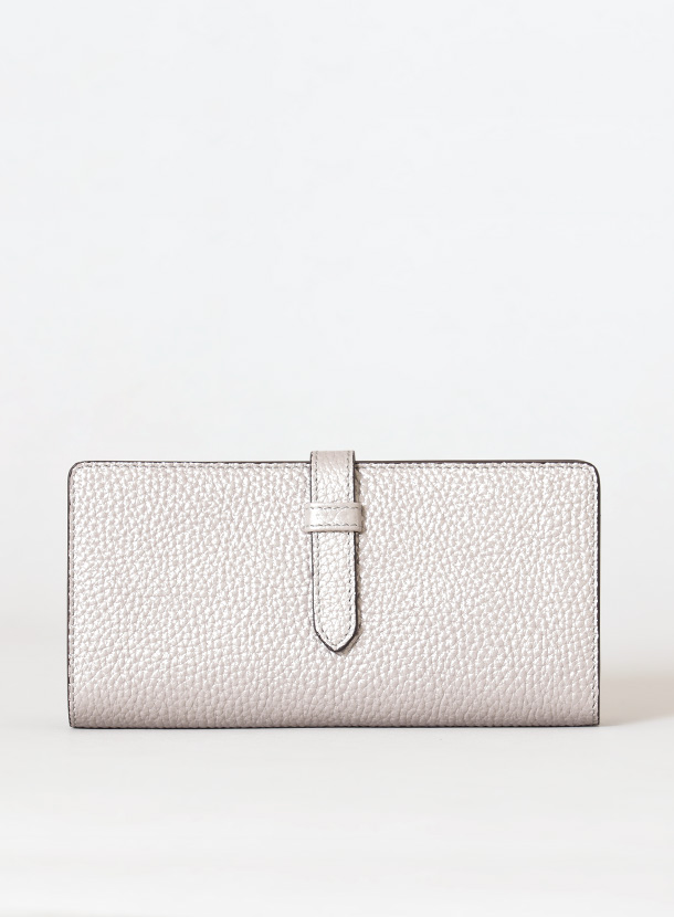 長財布(15mm幅差し込みベルト コインマチ付き 後ろ仕切りタイプ)シュリンクレザー